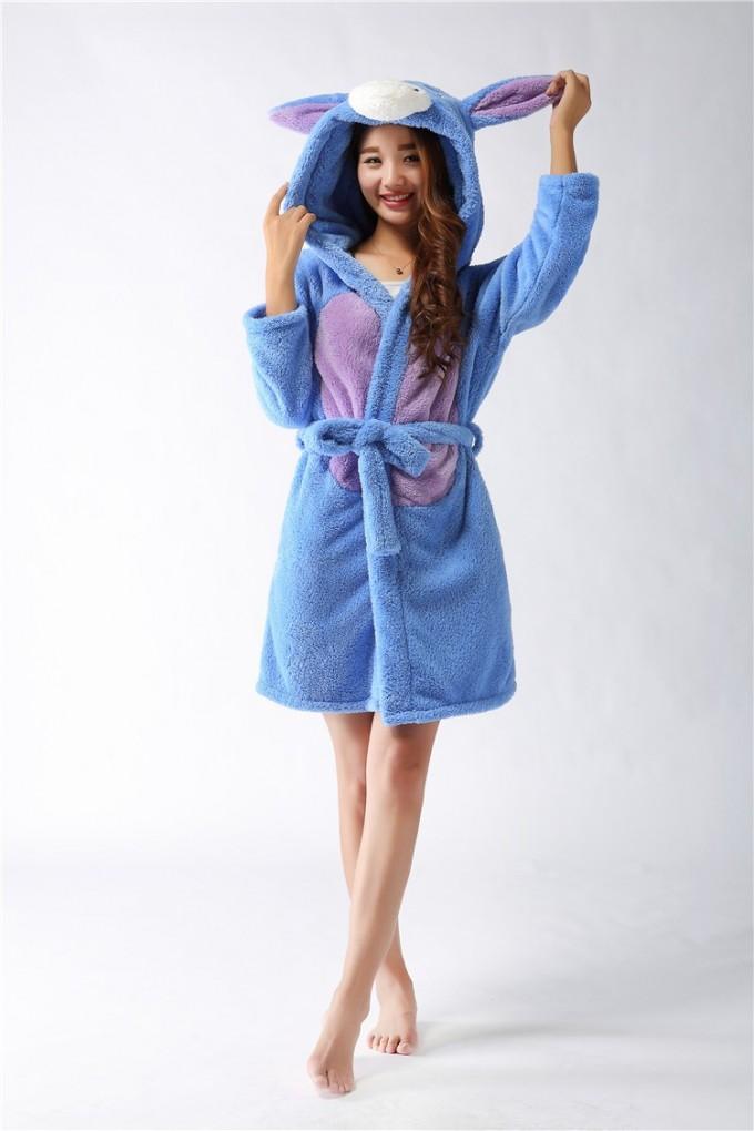 Plush Cotton Bathrobe | Plush Bathrobes | Full Length Robe
