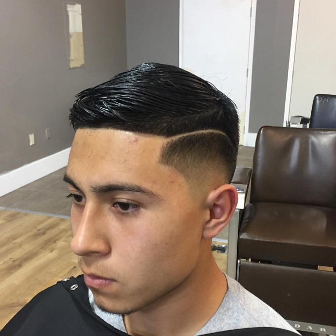 Pomade Hairstyle | Comb Haircut | Comb Over Haircut