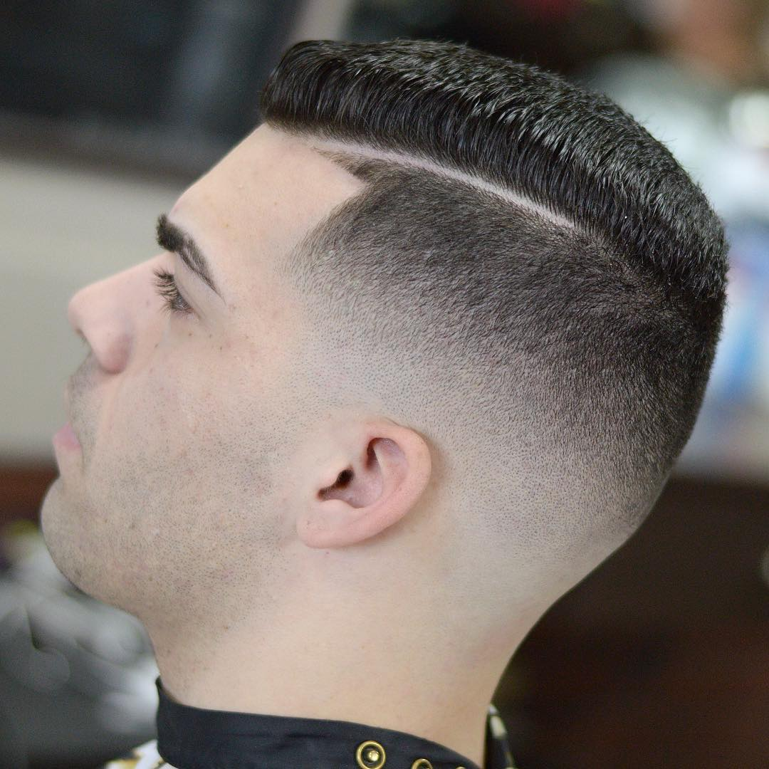 Pomade Hairstyle | Comb Over Haircut | Comb Over Fades