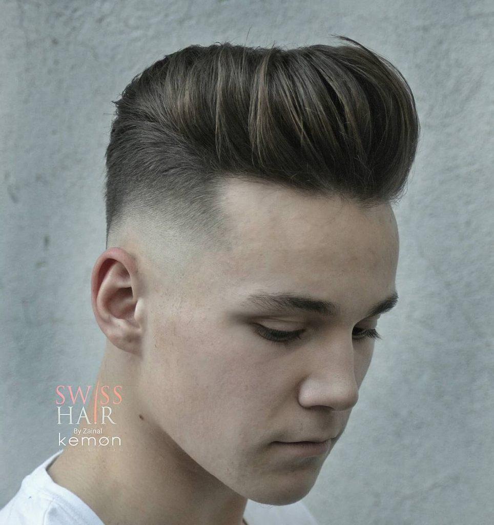 Pompadour Haircut | Mens Quiff | Haircut Measurements