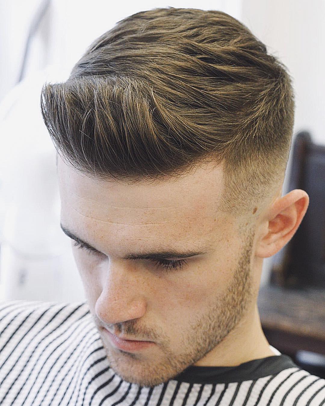 Pompadour Haircut | Short Pompadour | Mens Quiff