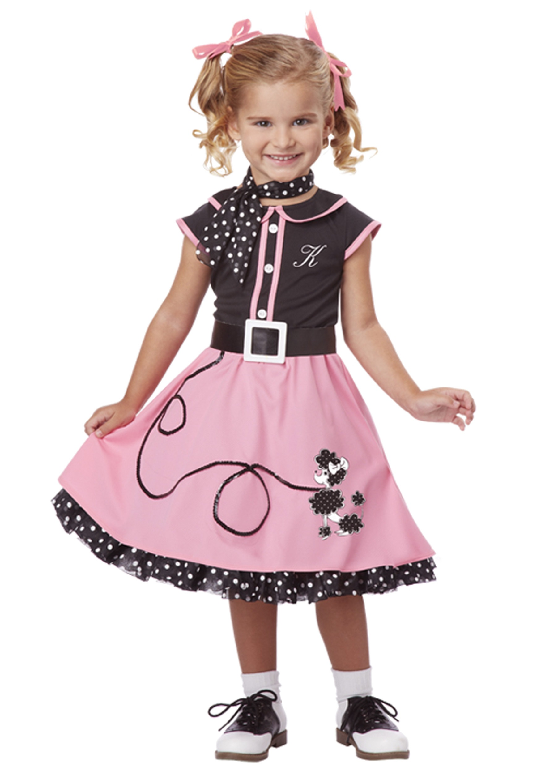 Poodle Skirt Costume Child | 50s Style Clothing | 50s Attire