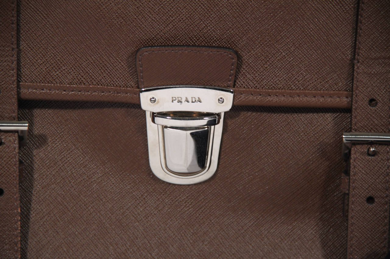 Prada Card Case Men | Prada Briefcase | Prada Business Bag