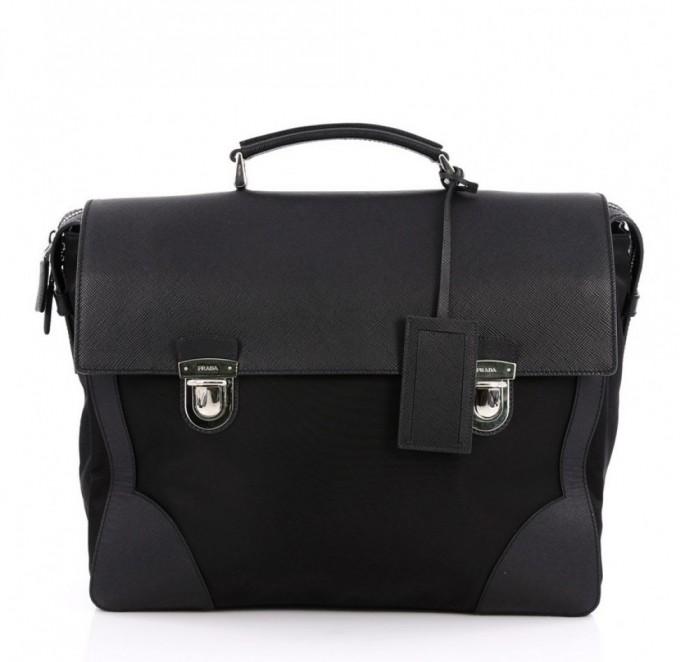 Prada Card Holder For Men | Prada Briefcases | Prada Briefcase