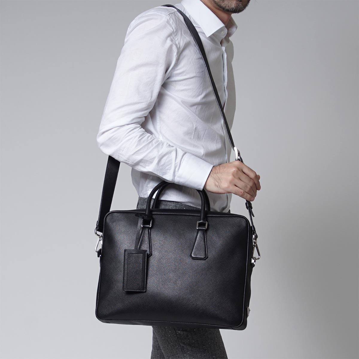 Prada Mens Briefcase Sale | Prada Briefcase | Prada Messenger Bag for Men