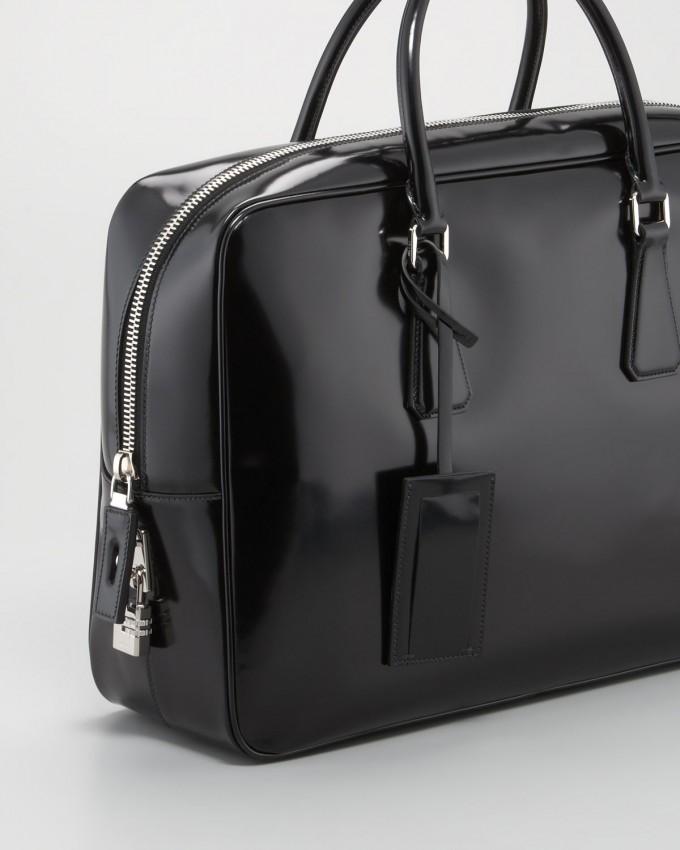 Prada Saffiano Leather | Briefcase With Shoulder Strap | Prada Briefcase