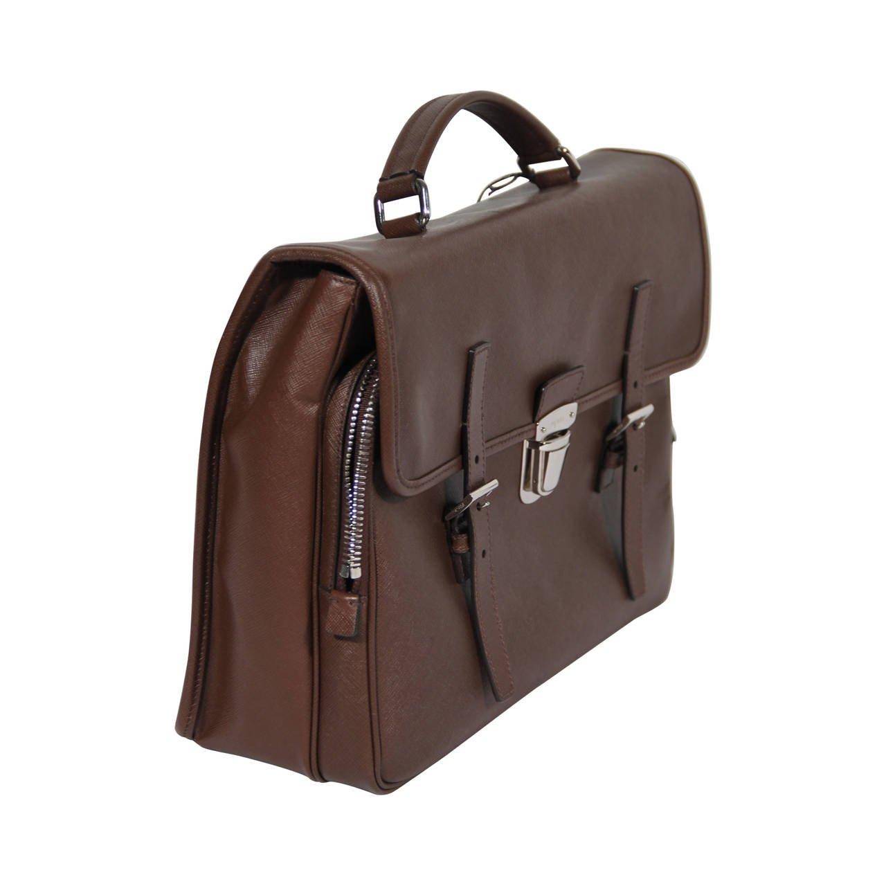 Prada Saffiano Men | Prada Bags Mens | Prada Briefcase