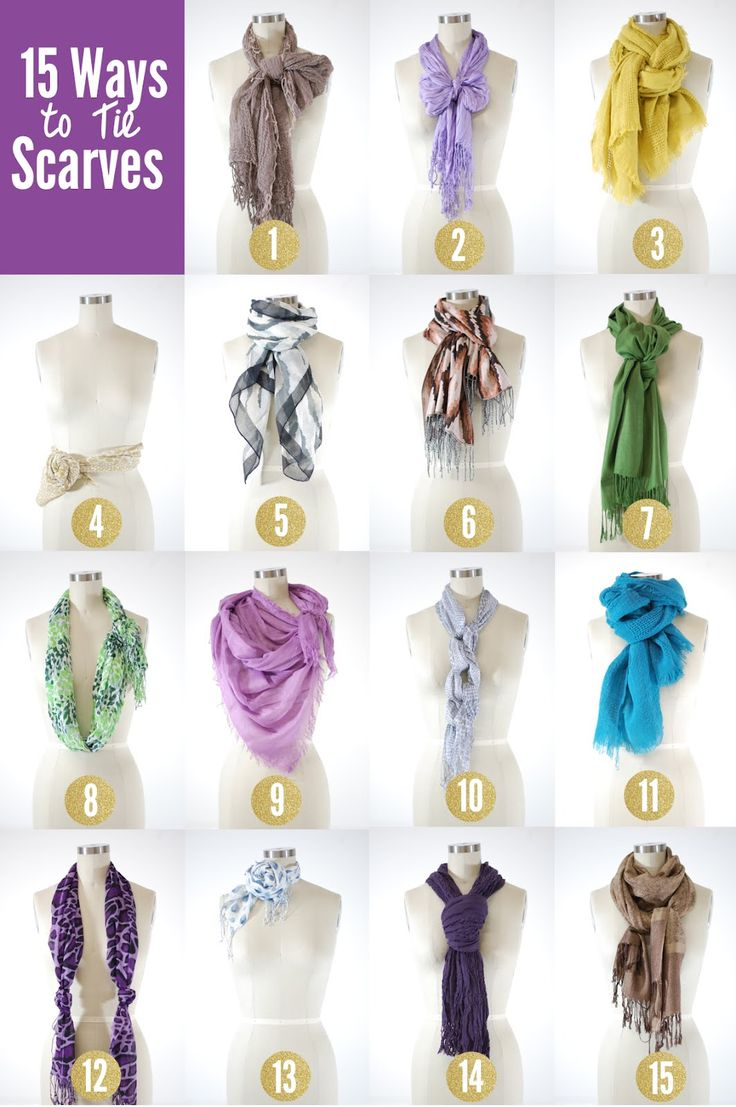 Proper Way to Wear A Scarf | Scarf Knots | Hermes Scarf Tying