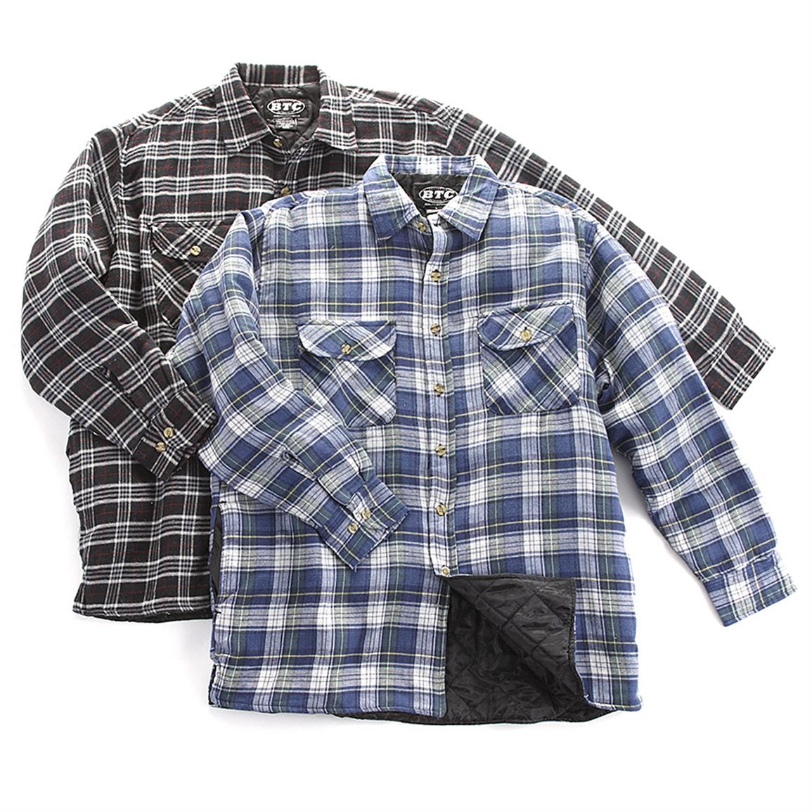 Quilted Flannel Shirt | Carhartt Flannel Shirts | Duluth Trading Flannel