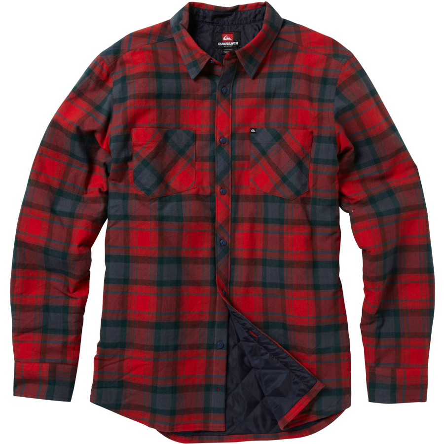 Quilted Flannel Shirt | Flannel Shirts Men | Flannel Shirt Mens