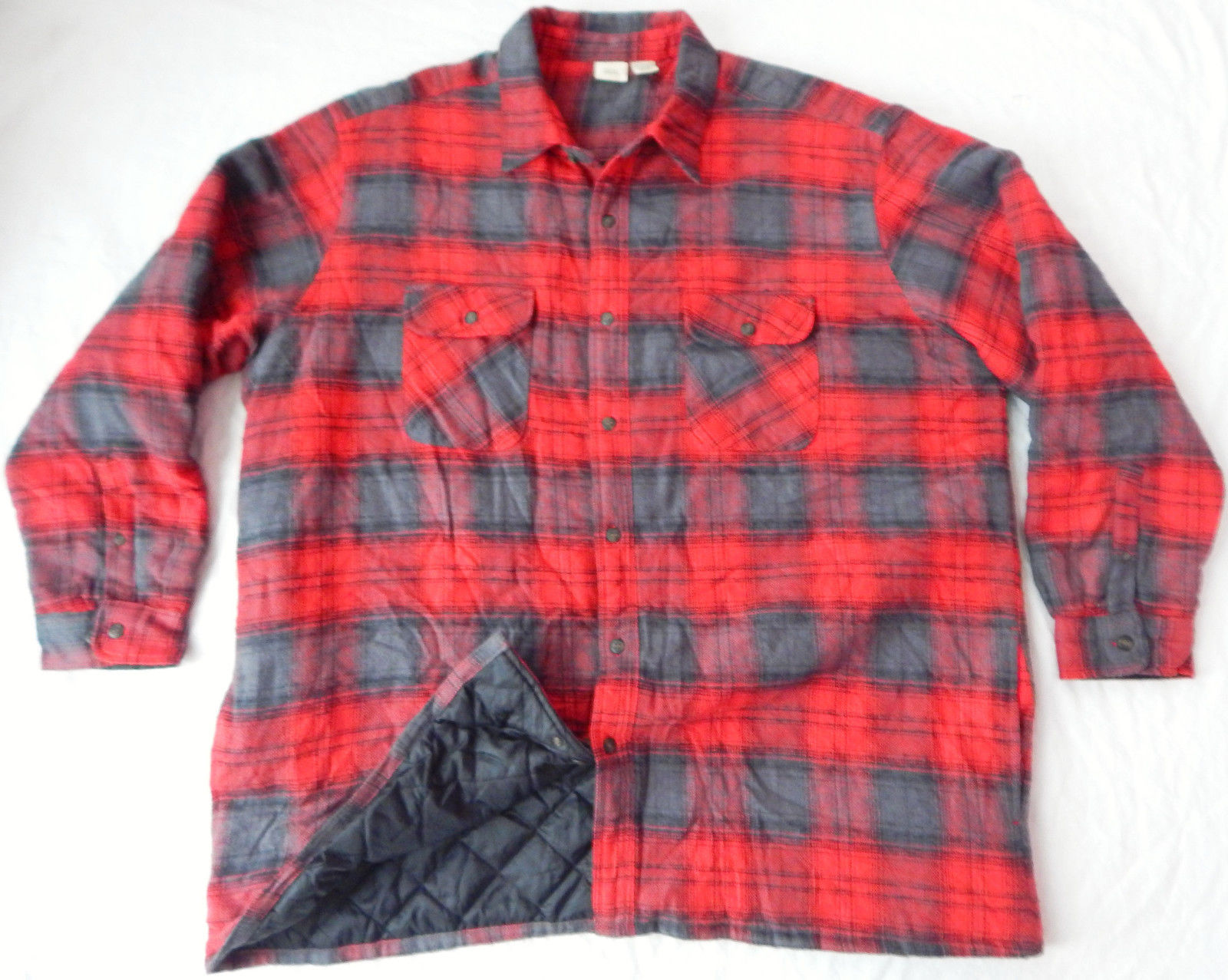 Quilted Flannel Shirt | Insulated Flannel Shirt | Tall Flannel Shirts