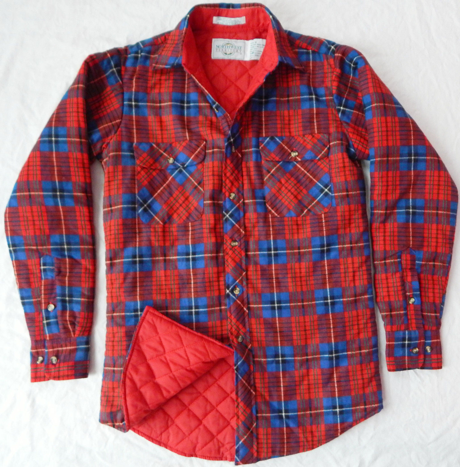 Quilted Flannel Shirt | Ll Bean Flannels | Quilted Flannel Shirt