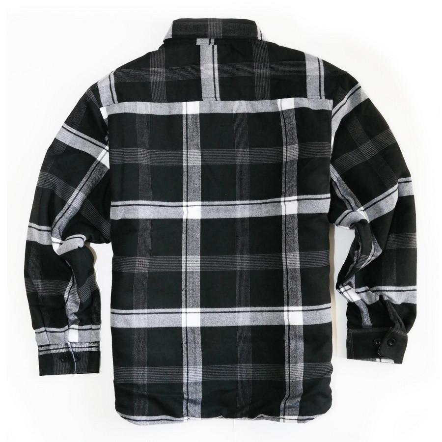 Quilted Flannel Shirt | Quilted Flannel Shirt | Warm Flannel Shirts