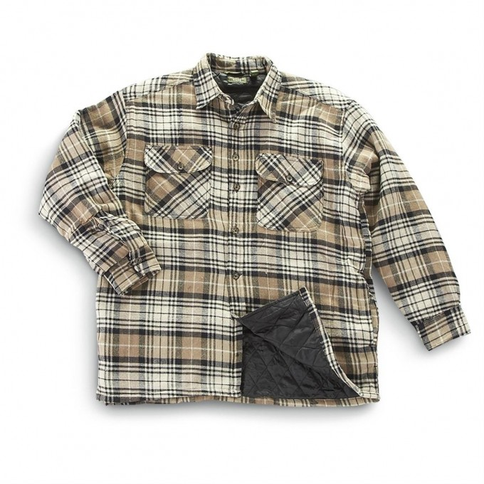 Quilted Flannel Shirt | Women's Fleece Lined Flannel Shirt | Thermal Lined Flannel Shirt