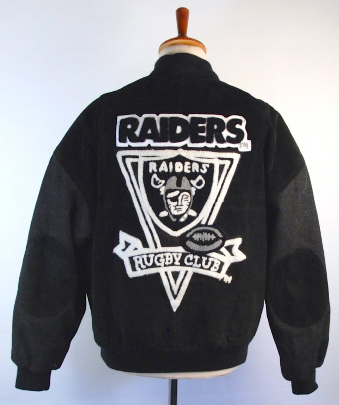 Raider Pajamas | Unique Raiders Gifts | Raiders Letterman Jacket