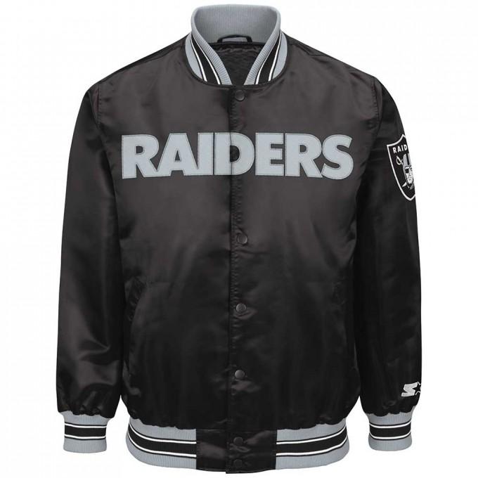 Raiders Bomber Jacket | Raiders Varsity Jacket | Oakland Raiders Leather Jacket