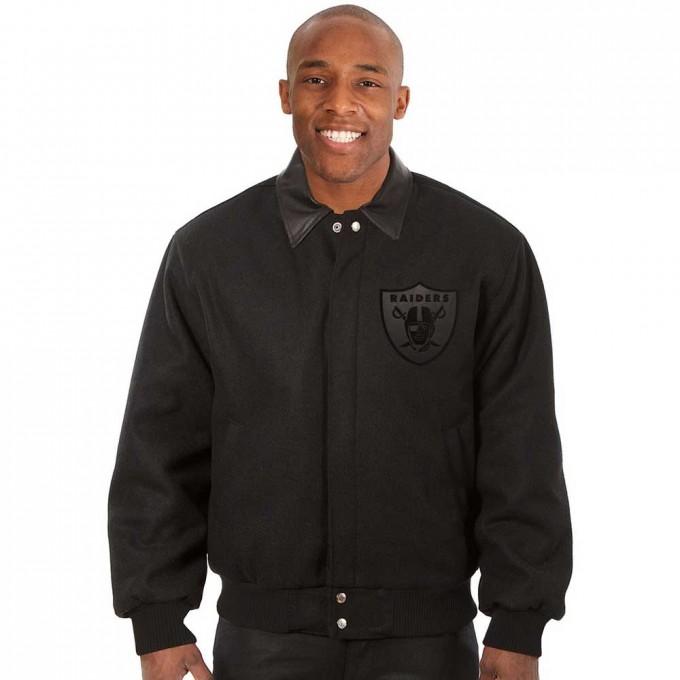Raiders Coat | Raiders Letterman Jacket | Oakland Raiders Vest