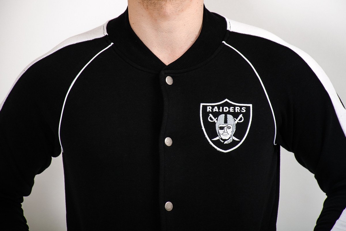 Raiders Hoodies | Oakland Raider Hoodies | Raiders Letterman Jacket