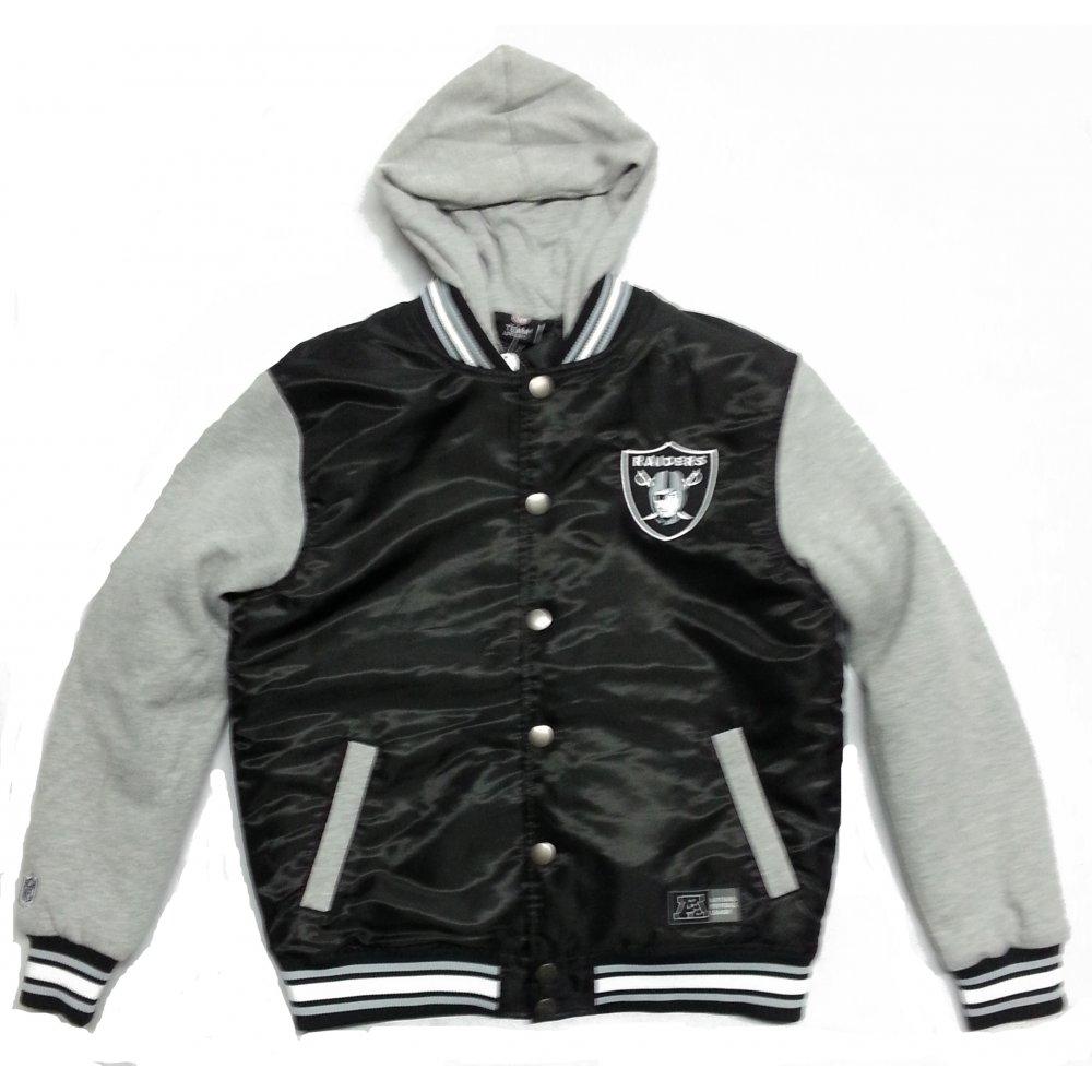 Raiders Leather Jacket | Raiders Varsity Jacket | Oakland Raiders Letterman Jacket