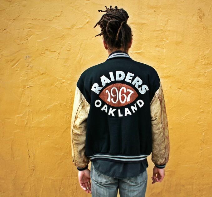 Raiders Letterman Jacket | La Raiders Jacket | Raiders Leather Jacket