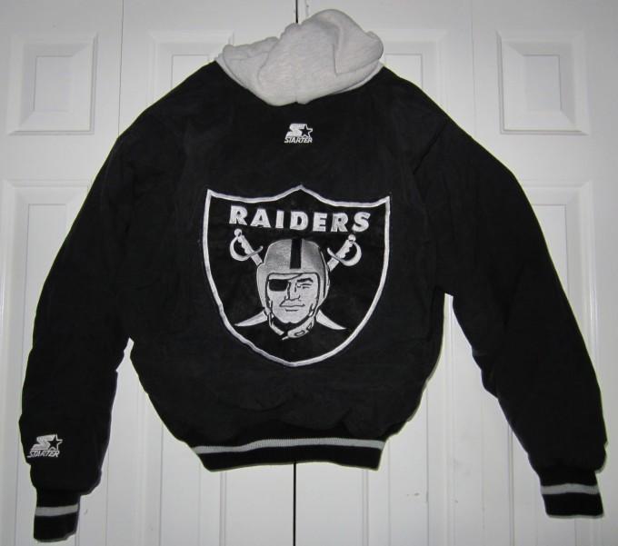 Raiders Letterman Jacket | La Raiders Starter Jacket | Raiders Letterman Jacket
