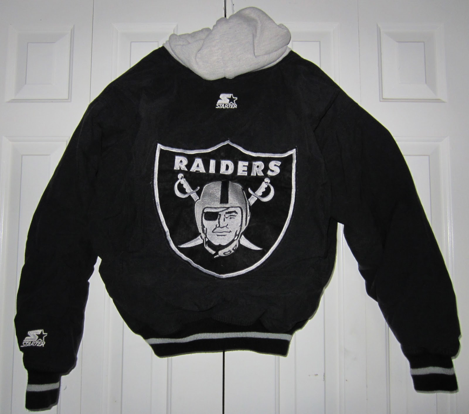 Raiders Letterman Jacket | La Raiders Starter Jacket | Raiders Letterman Jacket