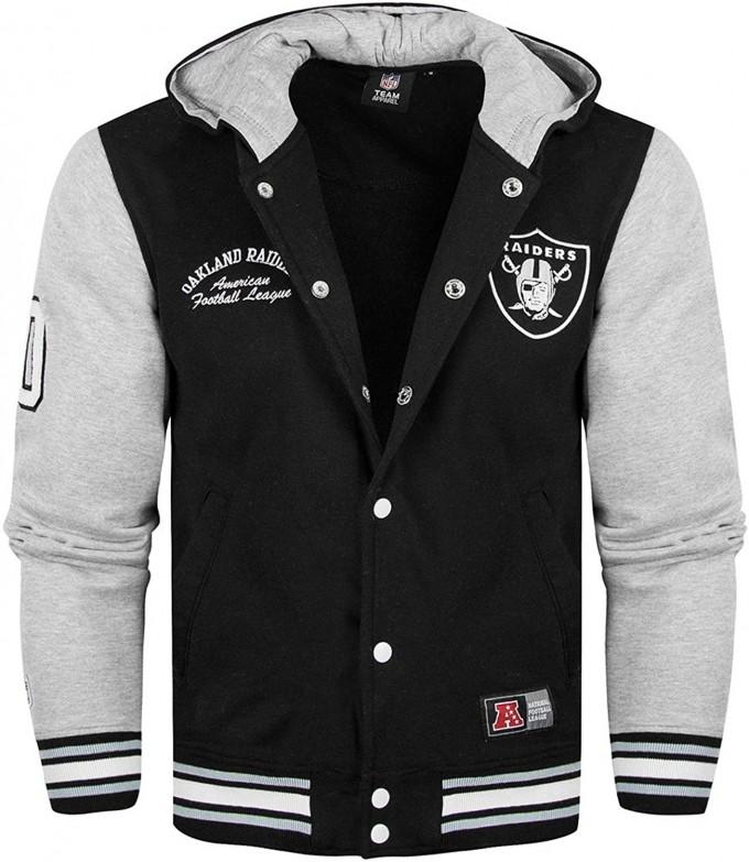 Raiders Letterman Jacket | Mitchell And Ness Varsity Jacket | Vintage Raiders Jacket
