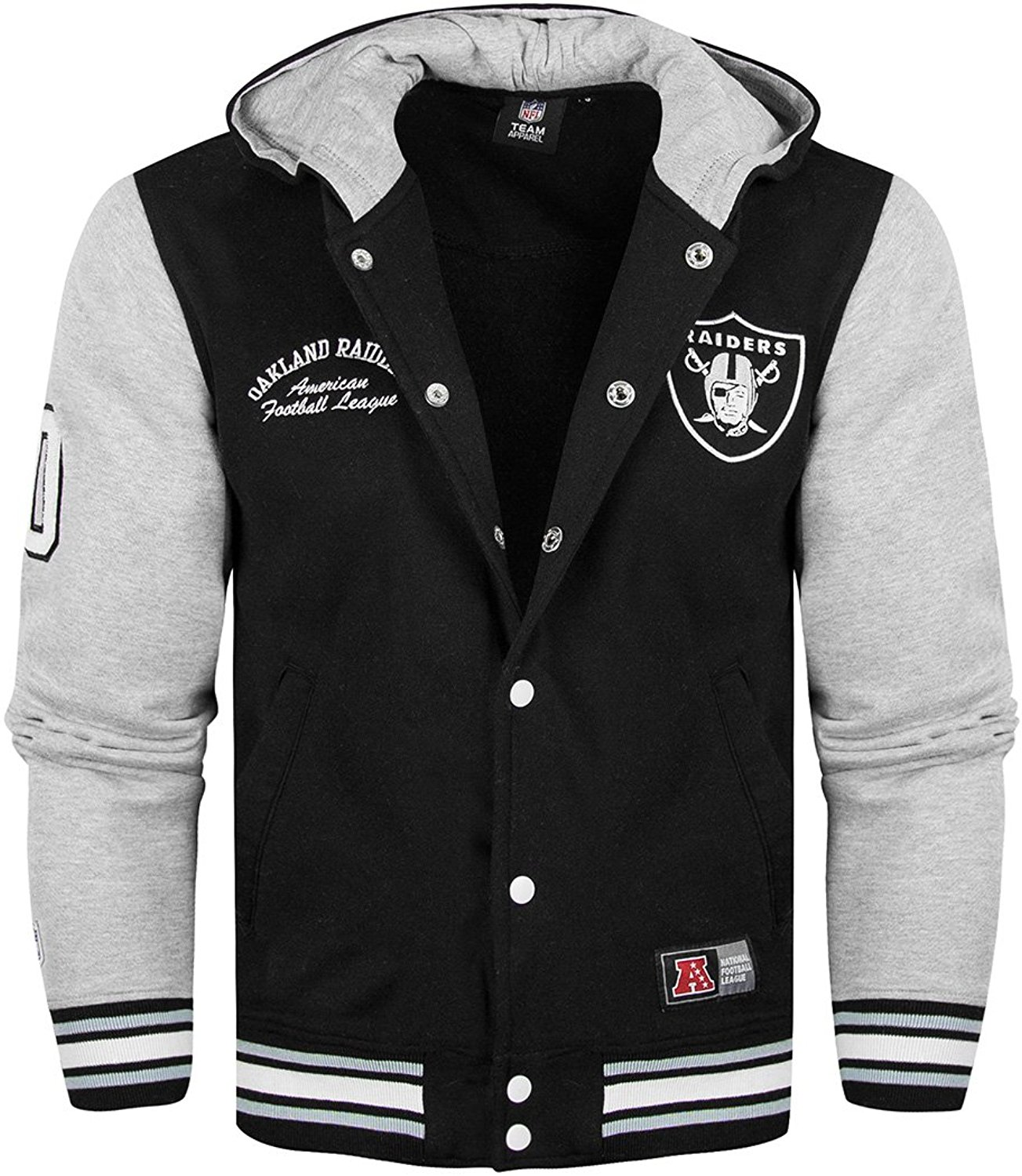 Raiders Letterman Jacket | Mitchell and Ness Varsity Jacket | Vintage Raiders Jacket