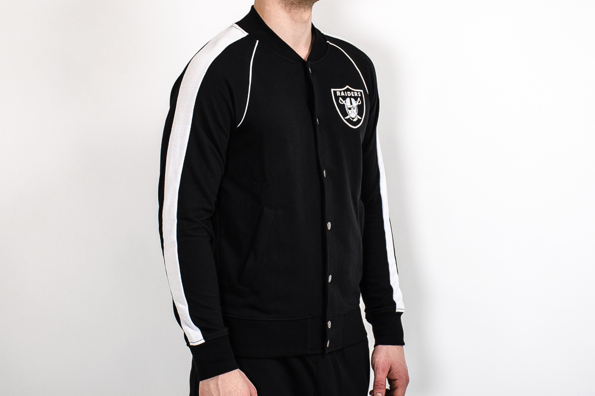 Raiders Letterman Jacket | Oakland Raiders Letterman Jacket | Raiders Starter Jacket