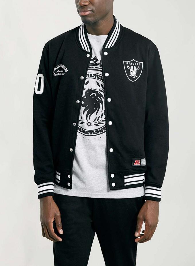 Raiders Letterman Jacket | Oakland Raiders Satin Jacket | Raider Blanket