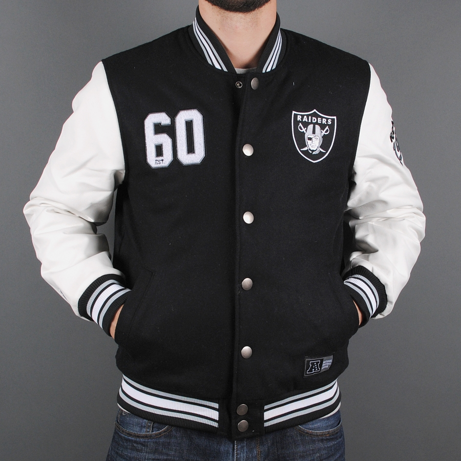 Raiders Letterman Jacket | Raider Sweatshirt | Raiders Starter Jackets