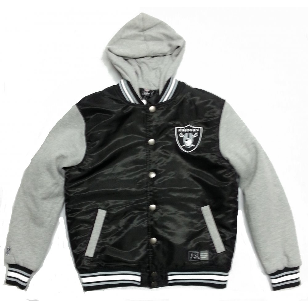 Raiders Letterman Jacket | Raiders Sweatshirt | Oakland Raiders Leather Jacket