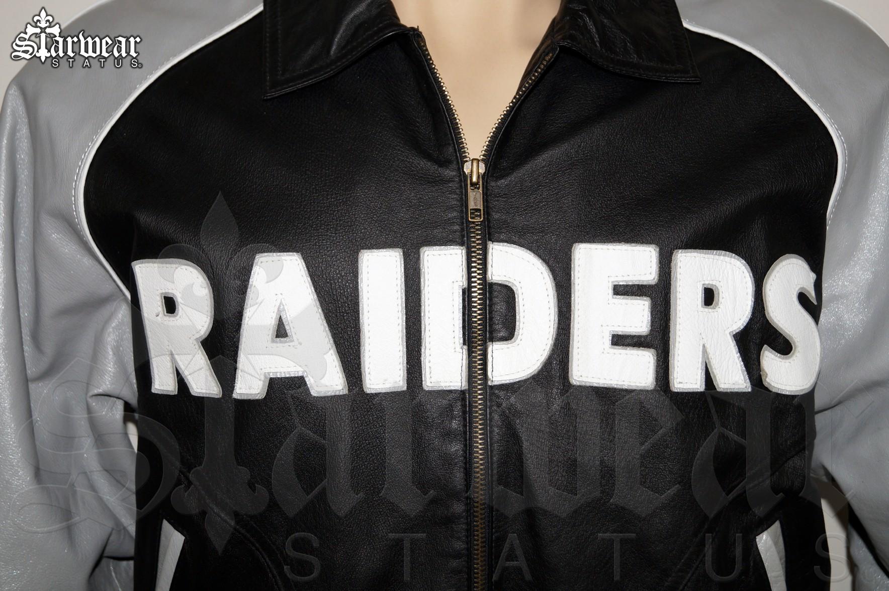 Raiders Varsity Jacket | Raiders Boots | Old School Raiders Starter Jacket