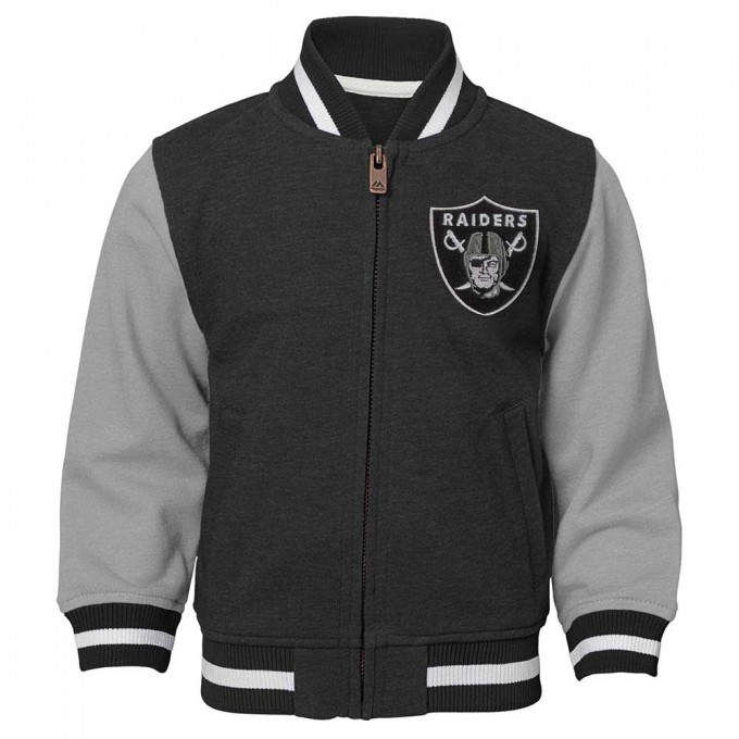 Raiders Varsity Jacket | Raiders Coats | Oakland Raiders Letterman Jacket