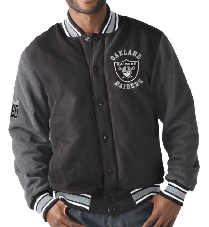 Raiders Varsity Jacket | Raiders Varsity Jacket | Raider Starter Jacket