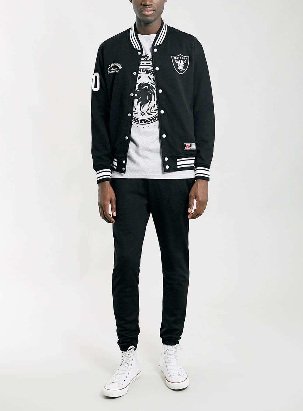 Raiders Varsity Jacket | Vintage Raiders Starter Jacket | Nba Bomber Jacket
