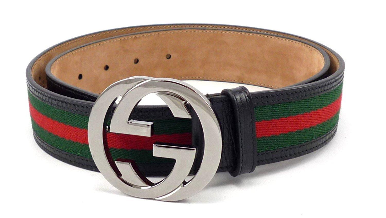 Red and White Gucci Belt | Red Gucci Belt | Designer Mens Belts