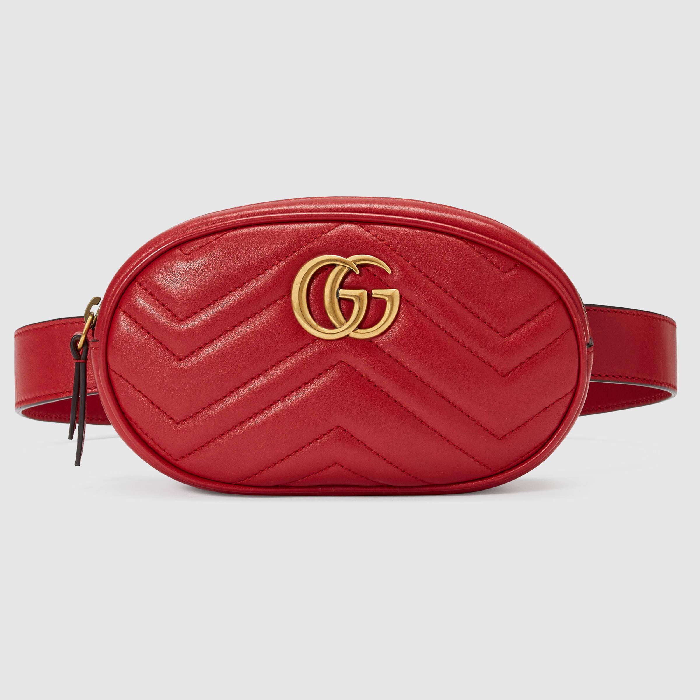 Red Gucci Belt for Men | Gucci Emblem | Red Gucci Belt
