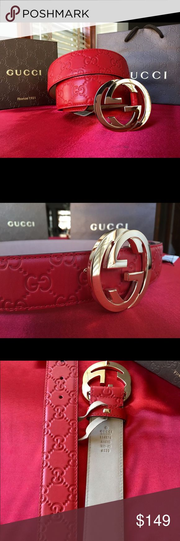 Red Gucci Belt | Gucci Belt Red | Mcm Belt For Men