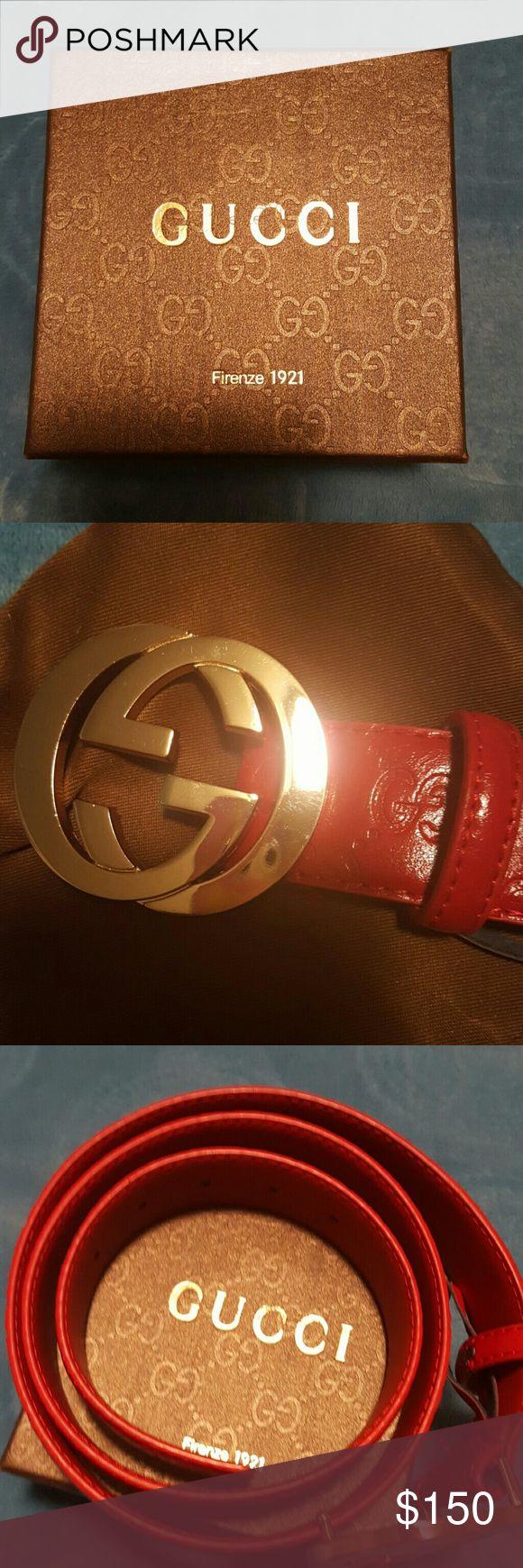 Red Gucci Belt | Louis Vuitton Belts | Red Gucci Belt