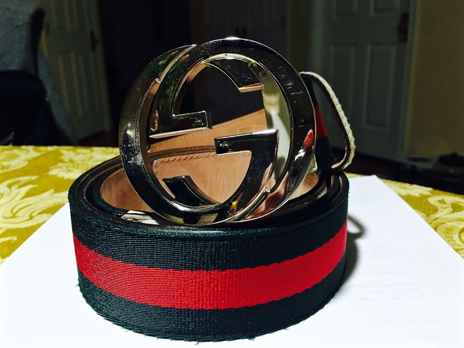 Red Gucci Belt | Real Gucci Belt | Womens Fendi Belt