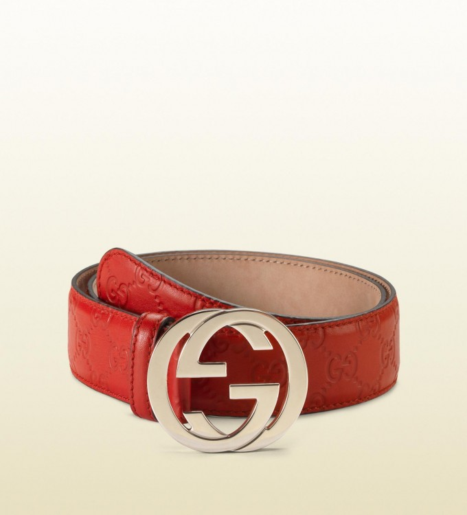 Red Versace Belt | Red Gucci Belt | Black And Red Gucci Belt