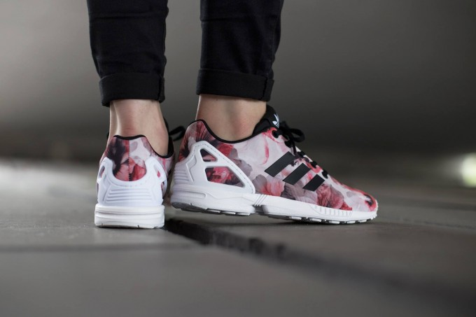 Red Zx Flux | Adidas Zx Flux Colorful | Zx Flux Floral