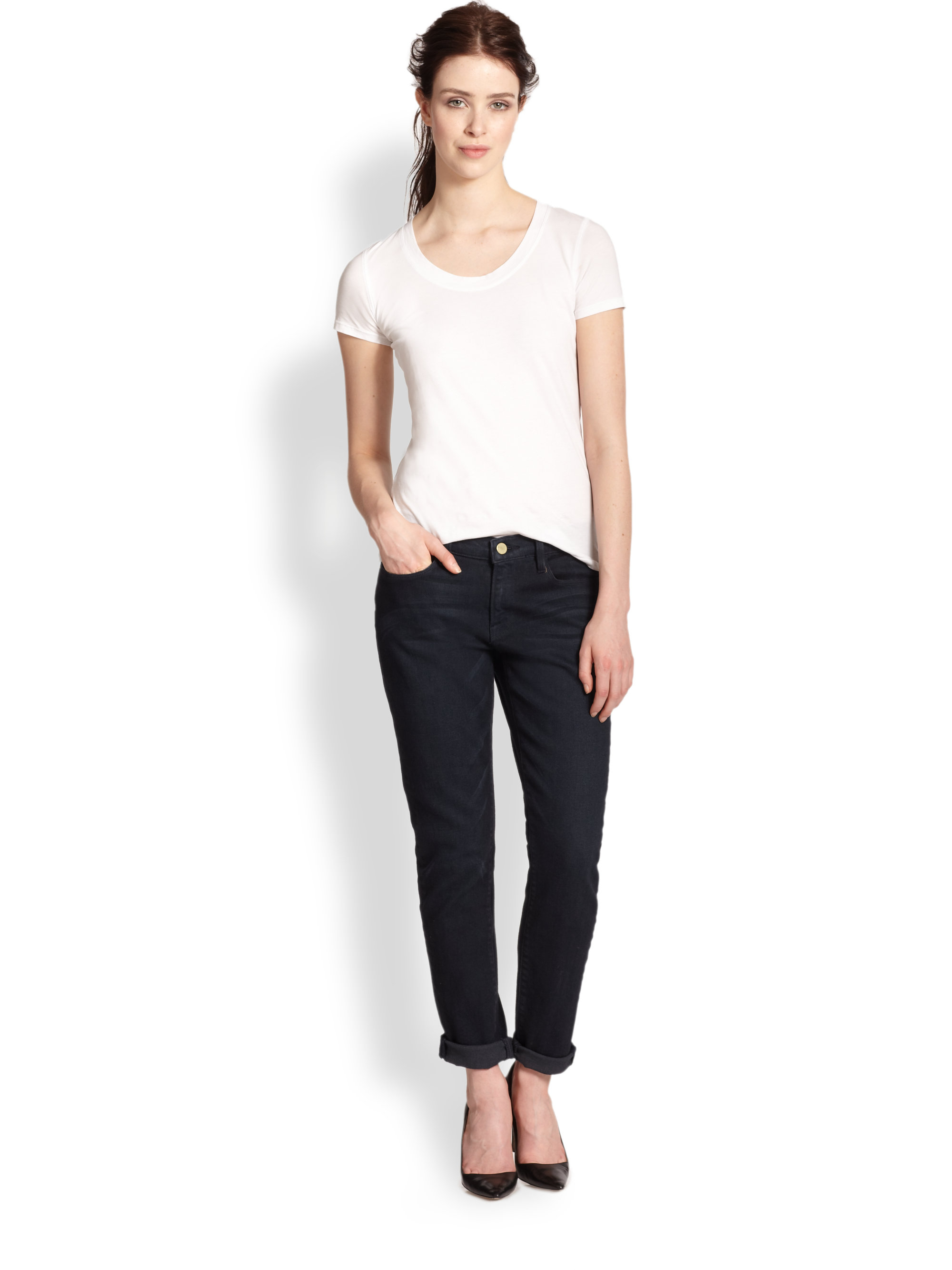 Redoubtable Frame Le Garcon Jeans | Simple Frame Denim Le Garcon