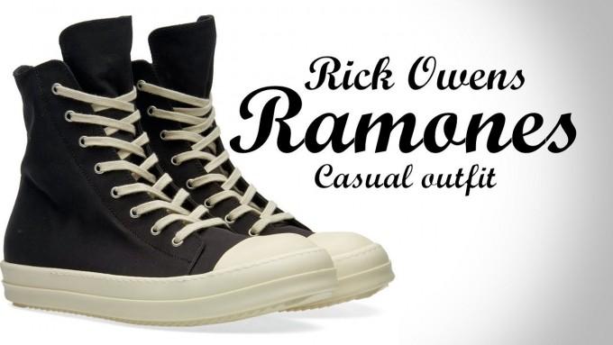 Rick Owens Geos   Rick Owen Ramones   Rick Owen Sneakers