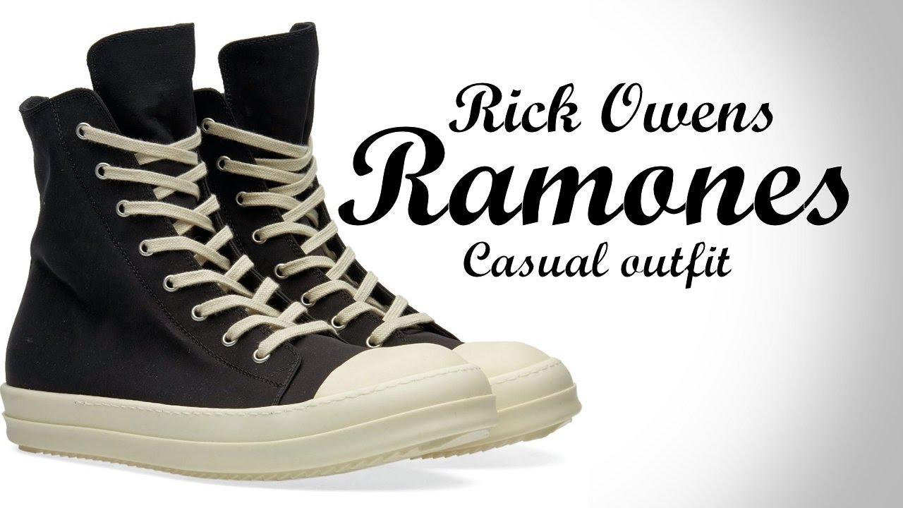 Rick Owens Geos | Rick Owen Ramones | Rick Owen Sneakers