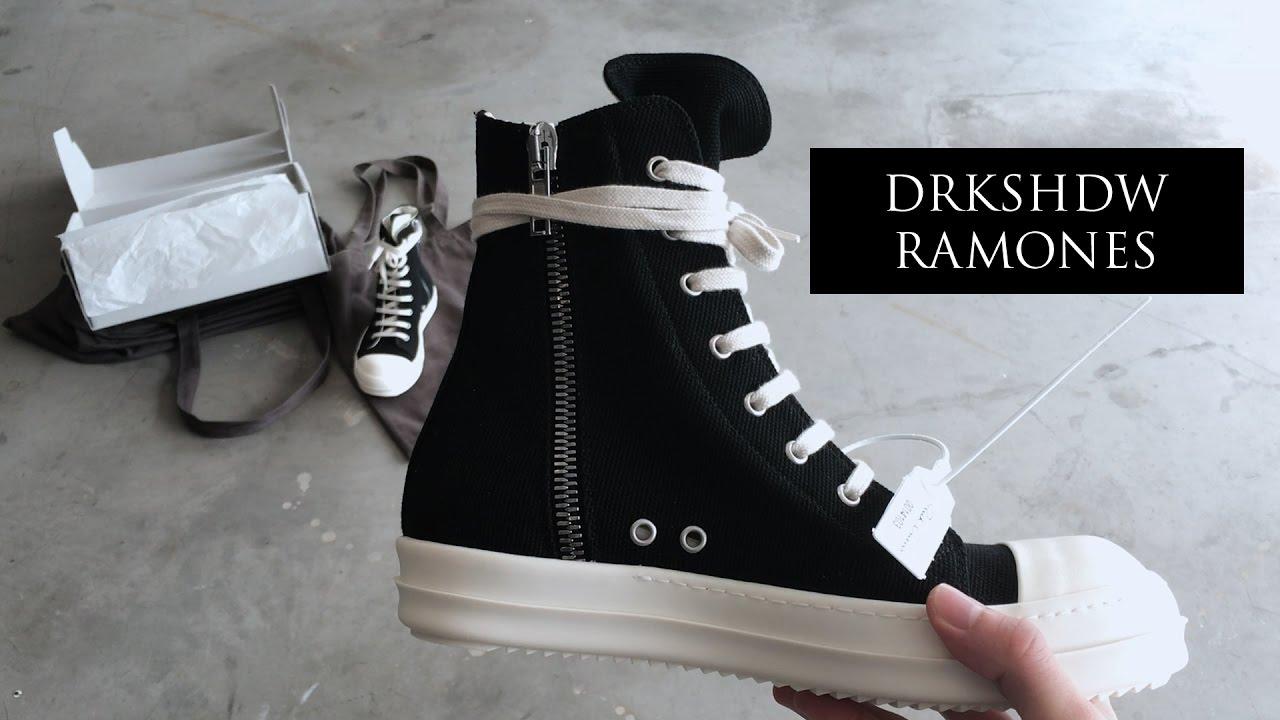 Rick Owens Ramones Sale | Rick Owens Discount | Rick Owen Ramones