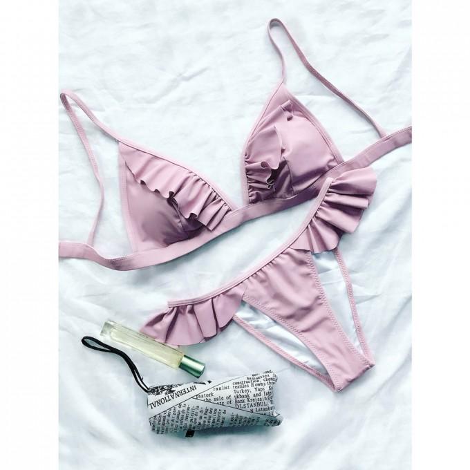Ruffle Tankini | Juniors Swimwear | Frilly Swimsuit