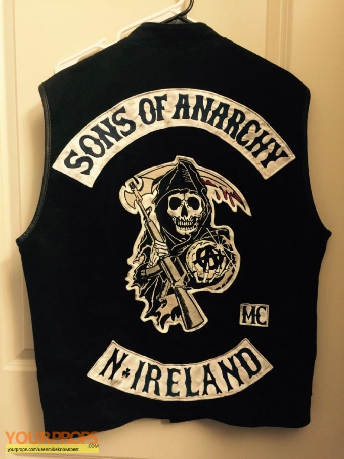 Samcro Cut | Sons Of Anarchy Costume | Soa Halloween Costumes