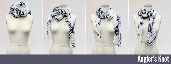 Scarf Folding | French Scarfs | Scarf Knots